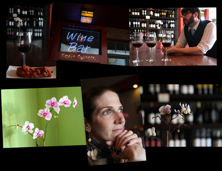 ZZA'S Wine Bar includes pairings of delightful and visual taste