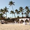 Beach wedding at a neighboring resort.