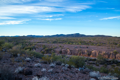 Another primo KOFA star gazing camp site.