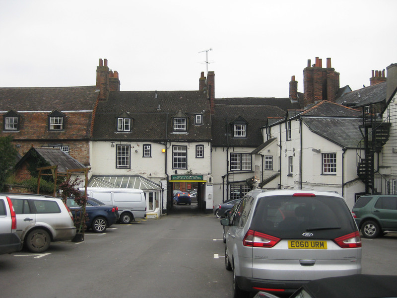 Back Entrance to Crown and Ball in Winchester