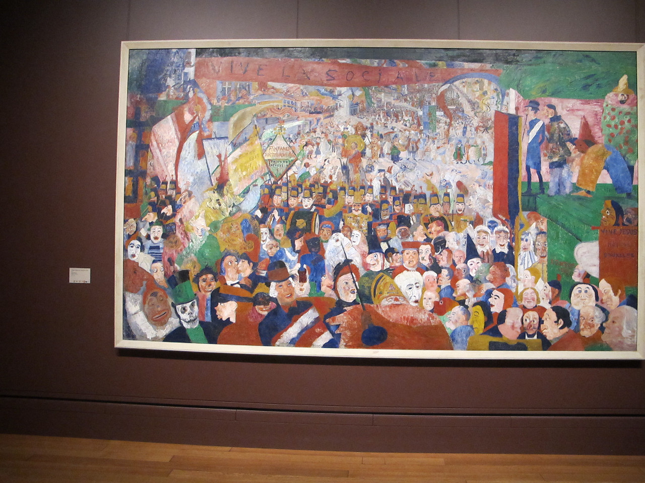 Christ's Entry Into Brussels in 1889, James Ensor