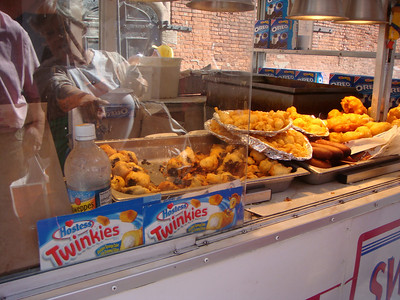 Fried Twinkies in Little Italy