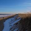 Snow on the dunes at Parker River NWR, Massachusetts