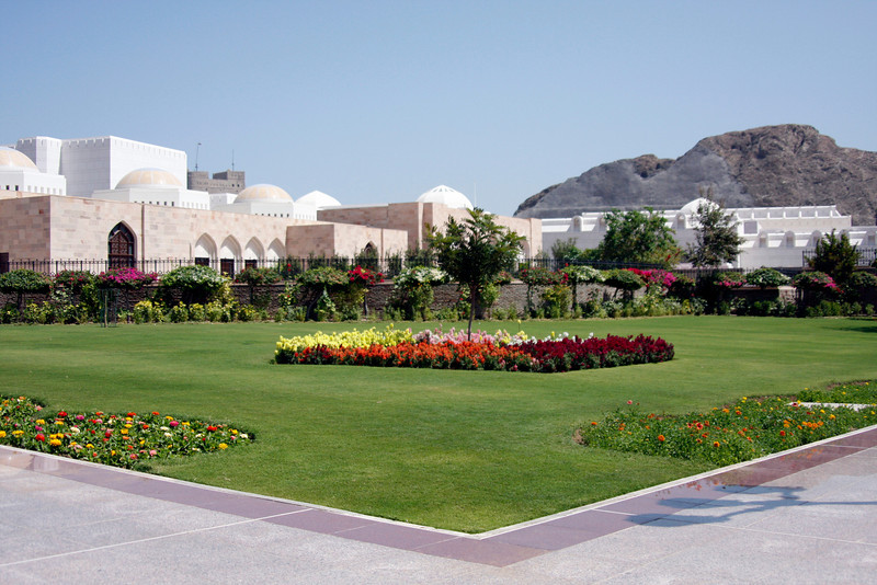 The grounds at the Sultans Palace