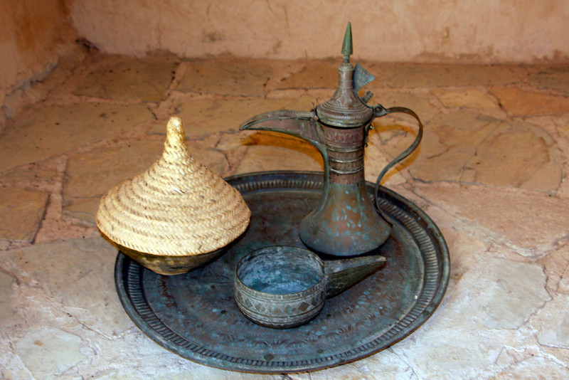 Artifacts at the Wilayat Nakhl Fort Museum.