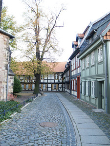 half timbered houses abound in Wernigerode.