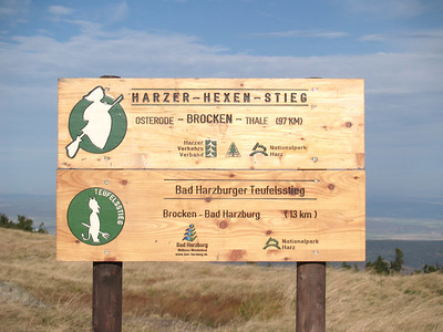The Harz mountains are famous for their Witches and Warlocks... part of local legend.
