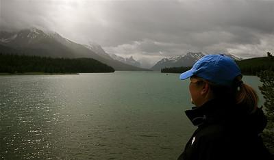 Maligne Lake. Jasper National Park, Alberta, Canada.