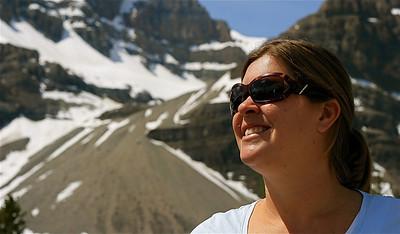 Close Up @ Crowfoot Glacier. Banff National Park, Alberta, Canada.