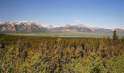 Middle Waterton Lake. Waterton Lakes National Park, Alberta, Canada.
