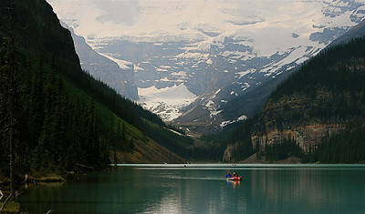 Lake Louise. Banff National Park, Alberta, Canada.