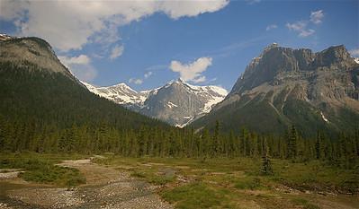 Emerald Basin. Yoho National Park, British Columbia, Canada.