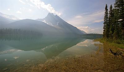 Emerald Lake. Yoho National Park, British Columbia, Canada.