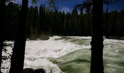 Marcus Falls @ Wells Gray Provincial Park. British Columbia, Canada.