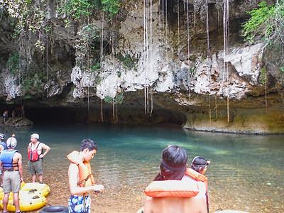 Belize Cave Tubing and  Zip Line