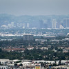 Downtown LA from Inglewood