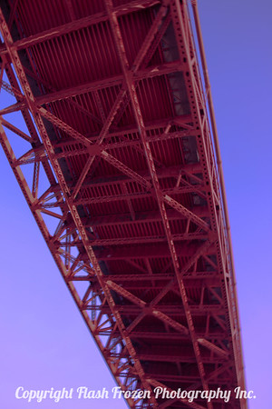 San Francisco's Golden Gate Bridge - Sailing in in the early morning