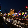 Night streets of Las Vegas
