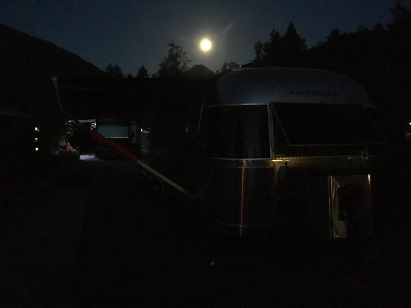 Moon over Rocinante