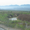 3/21 - River road along Mexican border<br /> (BW)