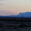 El Capitan, part of Guadalupe National Park, at sunset<br /> (LW)
