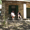 Pratt Cabin in McKittrick Canyon - Guadalupe National Park<br /> (BW)