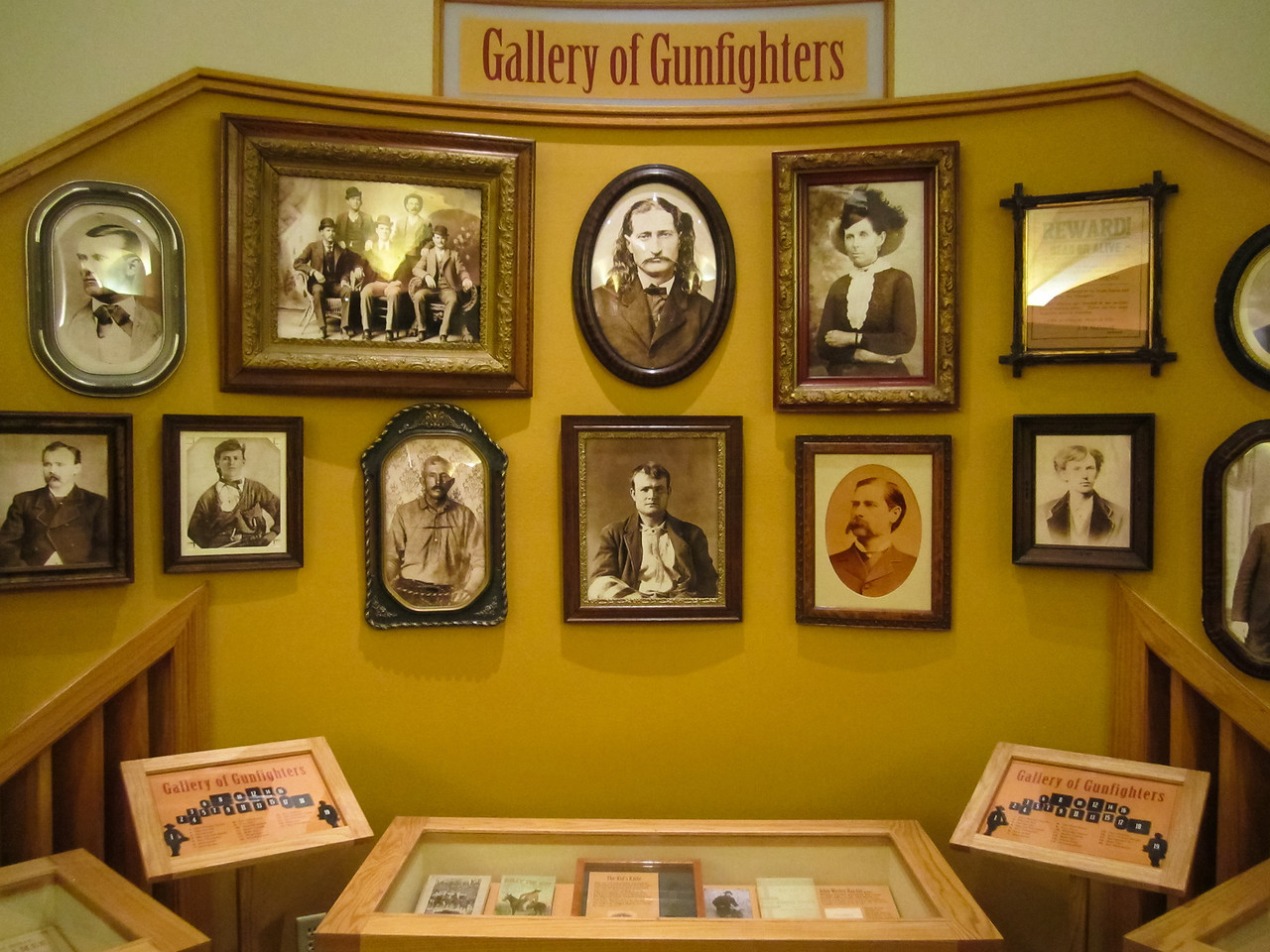 Gallery of Gunfighters, Buffalo Bill Historical Center