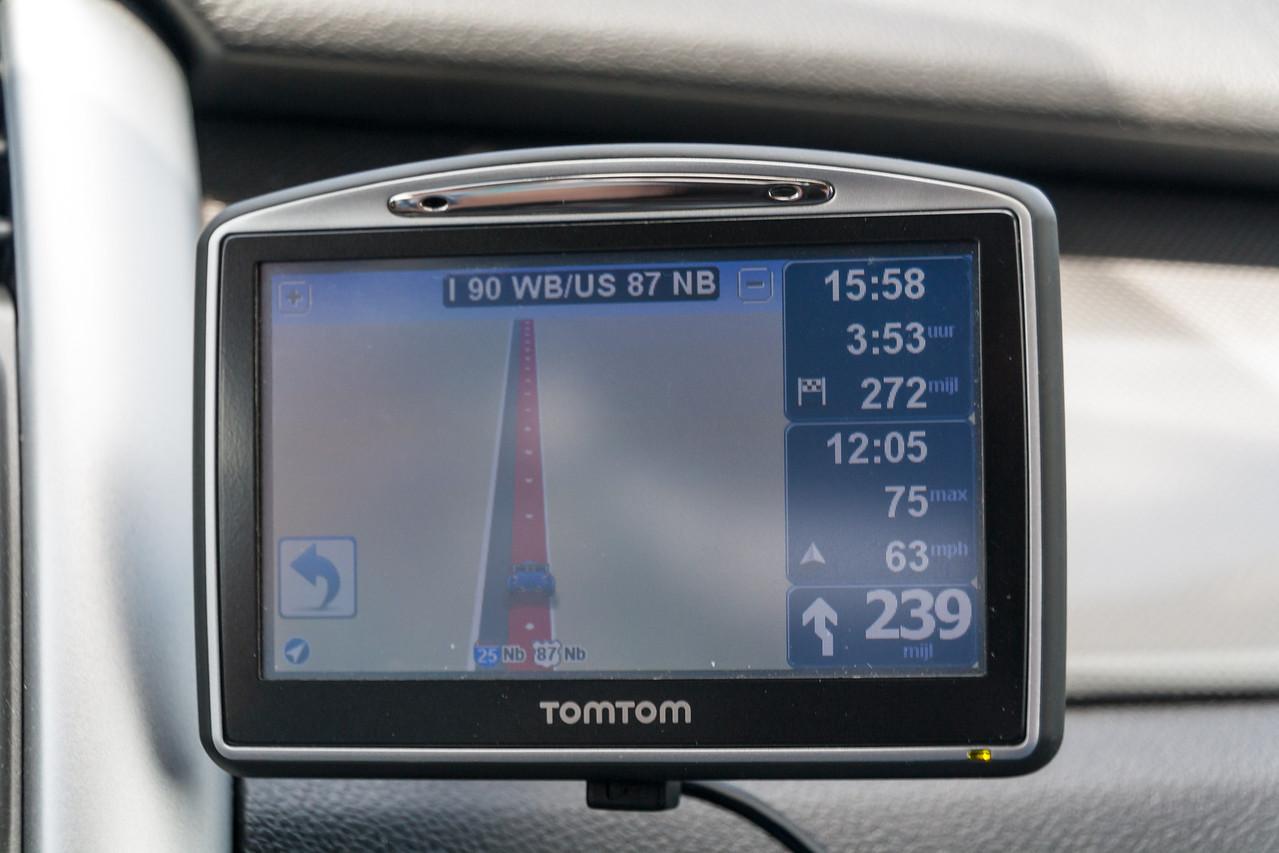 382km straight ahead...
