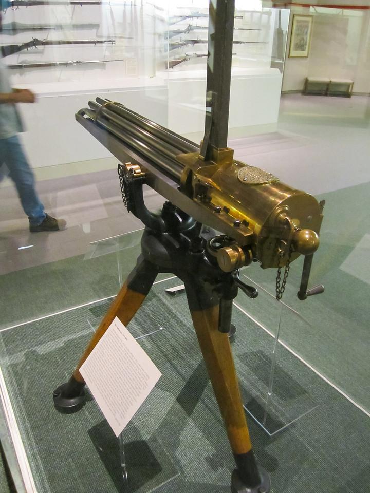Gattling Gun, Cody Firearms Museum, Buffalo Bill Historical Center