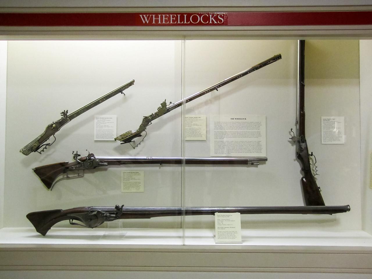 Wheellocks, Cody Firearms Museum, Buffalo Bill Historical Center