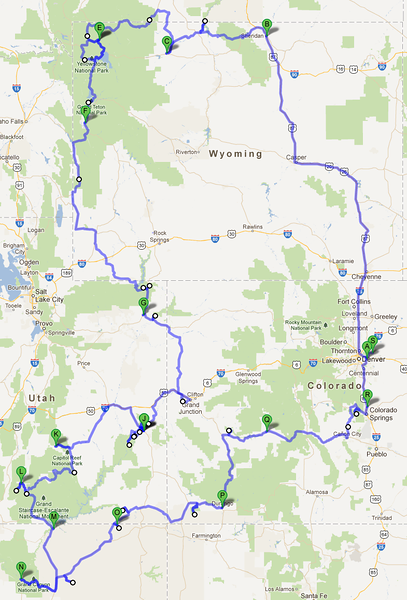 2012 route