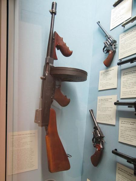 Thompson Sub-Machine Gun, Cody Firearms Museum, Buffalo Bill Historical Center