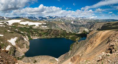 Twin Lakes, Beartooth Highway, Wyoming