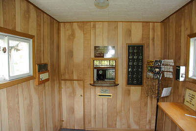 Interior of the Silver Lake WV Mailing Office.