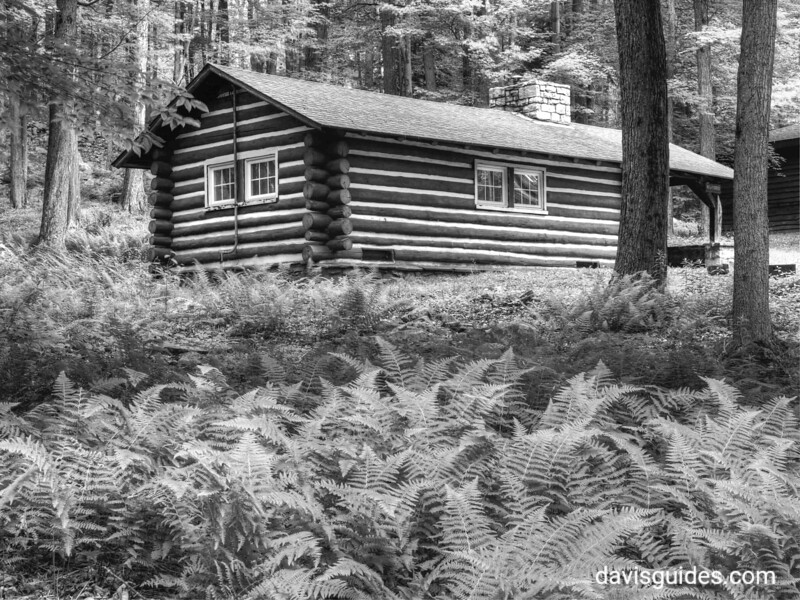 CCC cabin at Promised Land State Park, PA