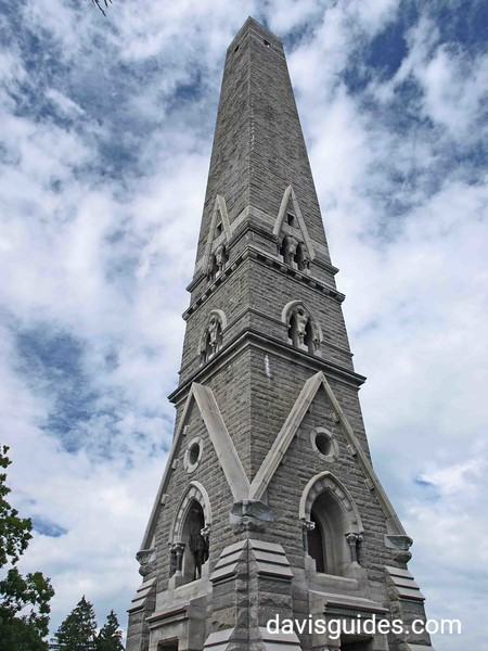 Battle of Saratoga Monument, Saratoga NHP