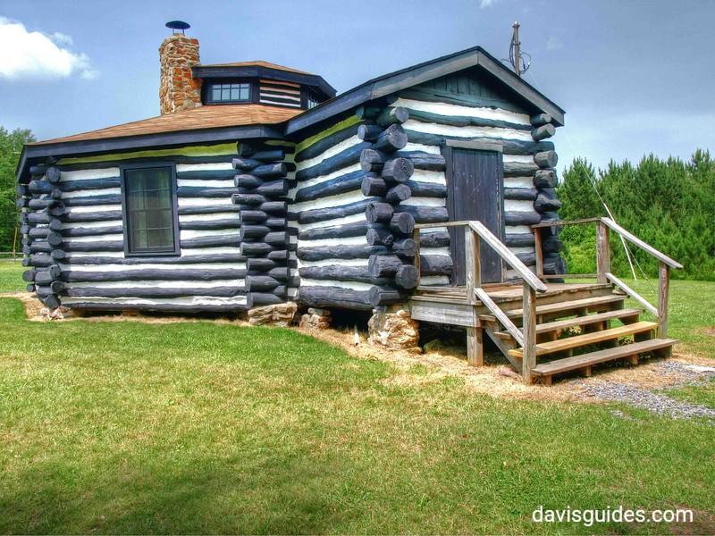 Octagon Lodge, Parker Dam State Park, PA