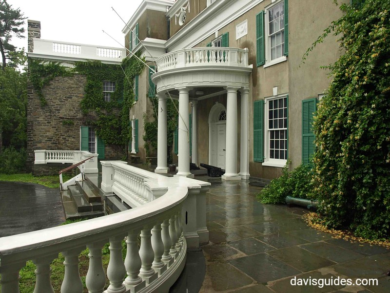"""""""Springwood"""" the family home in Hyde Park, NY, of Sara Delano Roosevelt and her son, President Franklin D. Roosevelt. Now part of the FDR Library and Museum"""