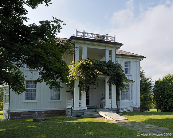 """This is where Pearl Buck was born.  As a novelist, Pearl Buck won both the Pulitzer and Nobel Prizes.  You can read more about her at <a href=""""http://www.sikhiwiki.org/index.php/Pearl_S_Buck"""">http://www.sikhiwiki.org/index.php/Pearl_S_Buck</a>.  Her parents were missionaries to China and, therefore, she did not spend much of her childhood at this house. <br /> <br /> Now preserved as a museum, the house was built by Pearl Buck's Dutch maternal great grandparents and grandparents (Stultings) in the late 19th Century.  They were inventive, highly skilled craftsmen.  The house contains many examples of their work."""