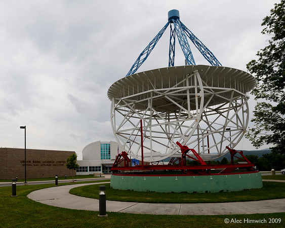 "This is the first radio parabolic telescope.  It was built by Grote Reber, an amatuer scientist, in 1937 in his backyard in Wheaton, IL.  (See <a href=""http://en.wikipedia.org/wiki/Radio_astronomy"">http://en.wikipedia.org/wiki/Radio_astronomy</a> for a short history of radio astronomy and <a href=""http://en.wikipedia.org/wiki/Grote_Reber"">http://en.wikipedia.org/wiki/Grote_Reber</a> for details about Reber and his work.)  He was aware of some pioneering work by Karl Jansky, a Bell Labs scientist, who recorded radio noise from the center of our galaxy.  Professional astonomers and Bell Labs did not follow up on Jansky's discovery.  <br /> <br /> As a scientist Reber had the impression that there were ""no more world's to conquor"" until he read about Jansky's work.  The hint of new realms to investigate was the inspiration of the construction this telescope and the calibration of it to receive radio signals from the Milky Way.<br /> <br /> With this telescope, Reber performed the first sky survery in radio frequencies. In this age of institutionally funded research, it is remarkable that this advancement was made by an amateur working on his own initiative."