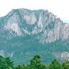 Seneca Rocks, Pendleton County, WV  9-3-01<br /> One of the best-known scenic attractions in West Virginia, the sheer rock faces of Seneca Rocks are a popular challenge for rock climbers.