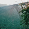 New River Gorge Bridge - National River Area, WV  9-1-01