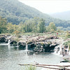 Sandstone Falls Near Hinton, WV - New River Gorge National River Area  9-1-01