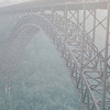 New River Gorge Bridge - New River Gorge National River Area, WV  9-1-01