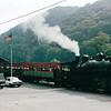 Cass Railroad with Shay Steam Locomotive, Cass, VA  9-3-01