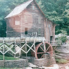 Lovely Setting of the Mill at Babcock State Park, Fayette County, WV  9-3-01