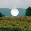 Robert C. Byrd Green Bank Telescope - National Radio Astronomy Observatory - Green Bank, WV  9-3-01<br /> Notice the warehouse to the left to imagine the scale of the telescope.