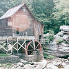 Grist Mill - Babcock State Park, Fayette County, WV  9-3-01