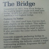New River Bridge Described