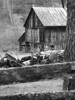 Board fence barn machinery